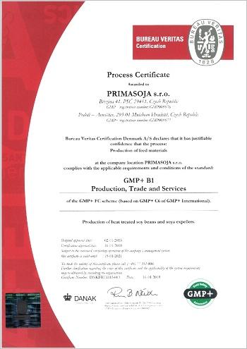 GMP certifikátm2